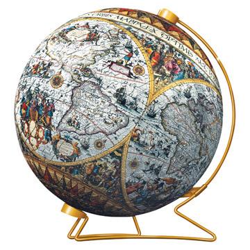 Пазл «Старинная карта мира»