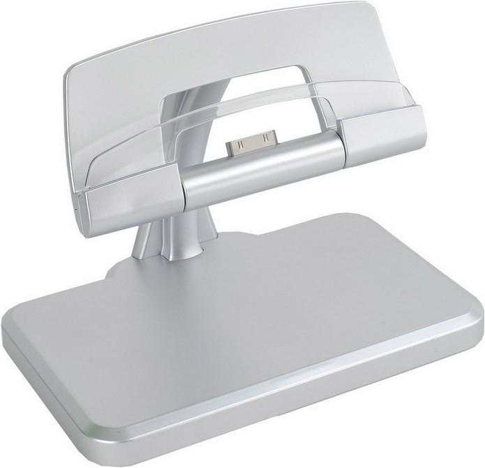 Зарядное устройство для iPad, iPhone c функцией подставки и подсветкой