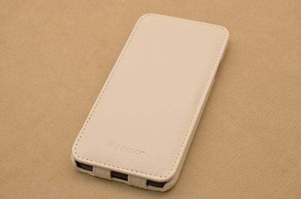 Чехол ARMOR для iPhone 6 «Белые ночи» (белый, личи)