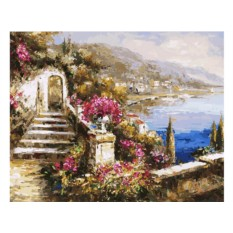 Картина по номерам «Вид на море»