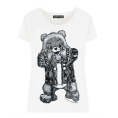 Женская футболка Funny bear