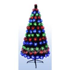 Оптоволоконная искусственная елка из ПВХ
