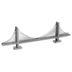 3D-пазл из металла Золотой мост