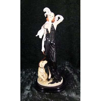 Статуэтка «Дама с собачкой»