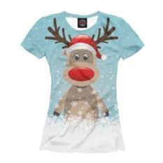 Женская футболка Rudolf