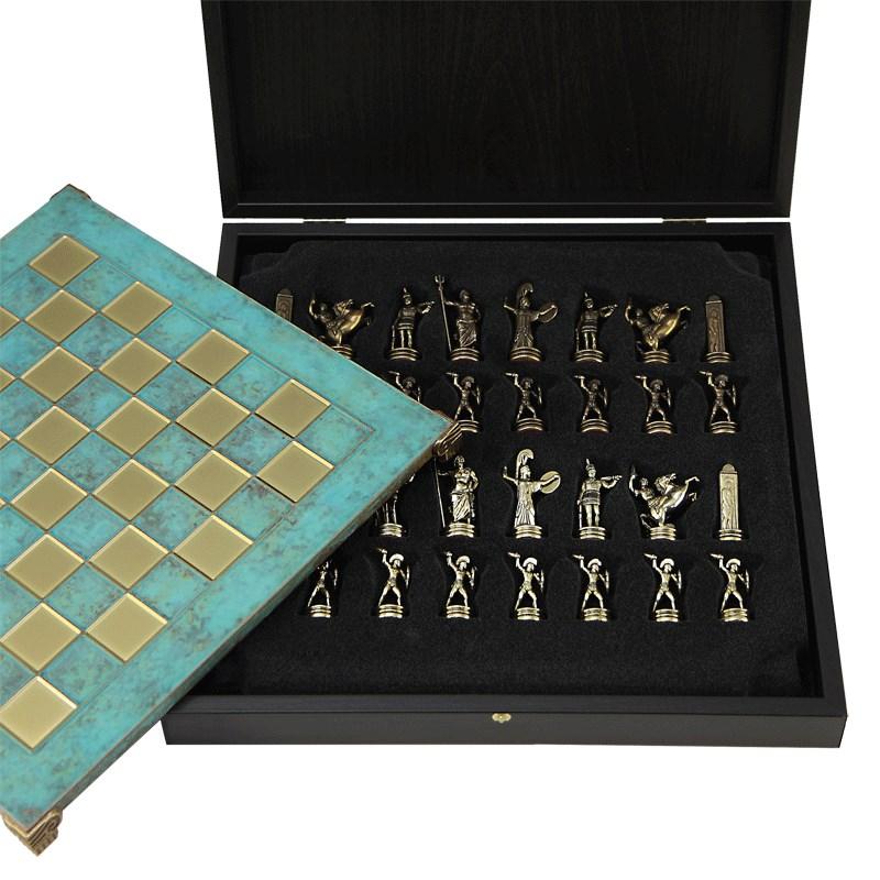 Оригинальные сувенирные шахматы Троянская война