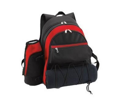 Рюкзак для пикника с набором посуды на 4 персоны