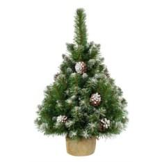 Заснеженная елка в мешочке Снежная королева