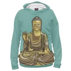 Женское худи Будда