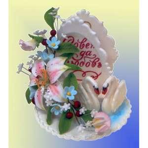Открытки из сахарной пасты «Свадебные»