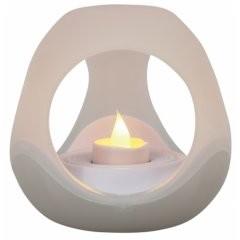 LED свеча стеклянная