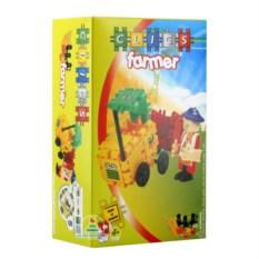 Конструктор Clics «Фермер» (44 детали)
