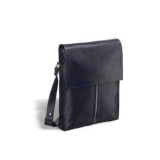 Кожаная сумка через плечо Brialdi Positano (цвет — синий)