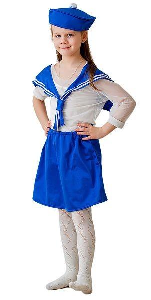 Карнавальный костюм Морячка, 6-10 лет