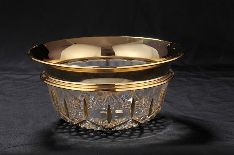 Хрустальная ваза для фруктов Metalbi