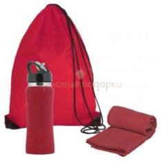 Красный подарочный набор Аэробика