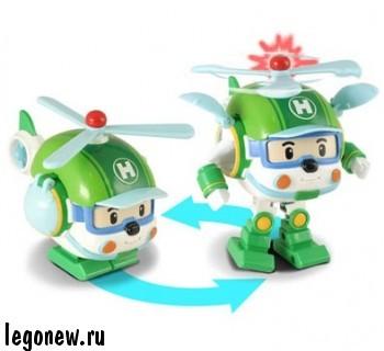 Робот - трансформер Хэли (Robocar)