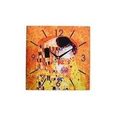Настенные часы «Климт. Поцелуй»