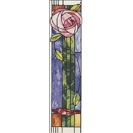 Набор для вышивания «Витражная роза»