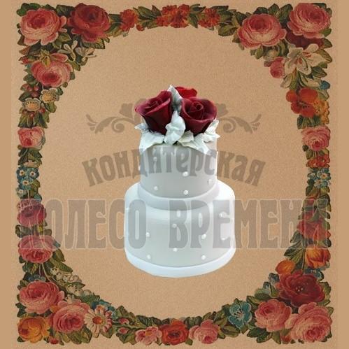 Тортик «Три розы»