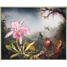 Картина с кристаллами Swarovski Загадочный лес