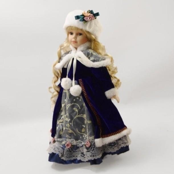 Фарфоровая кукла Снежана