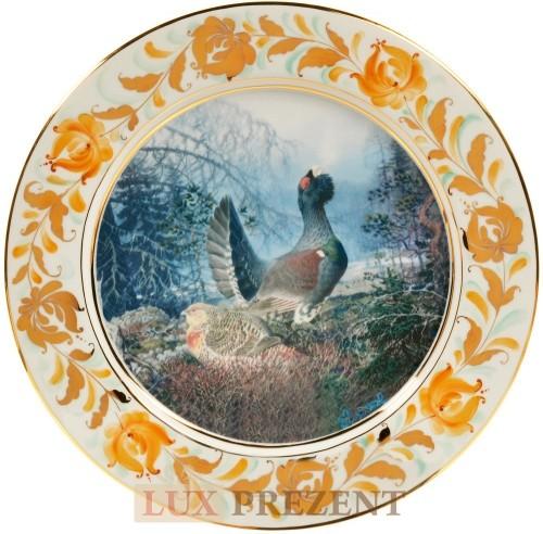 Декоративная тарелка Глухарь