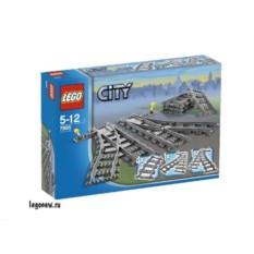 Конструктор Железнодорожные стрелки Lego