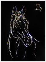 Картина Swarovski Символ года — Лошадь
