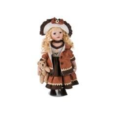 Красивая кукла из фарфора (высота 50 см)