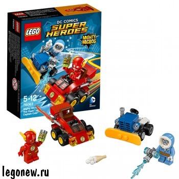 Конструктор Флэш против Капитана Холода Lego