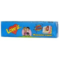 Жевательная резинка о вкусом арбуз-тропик Love Is