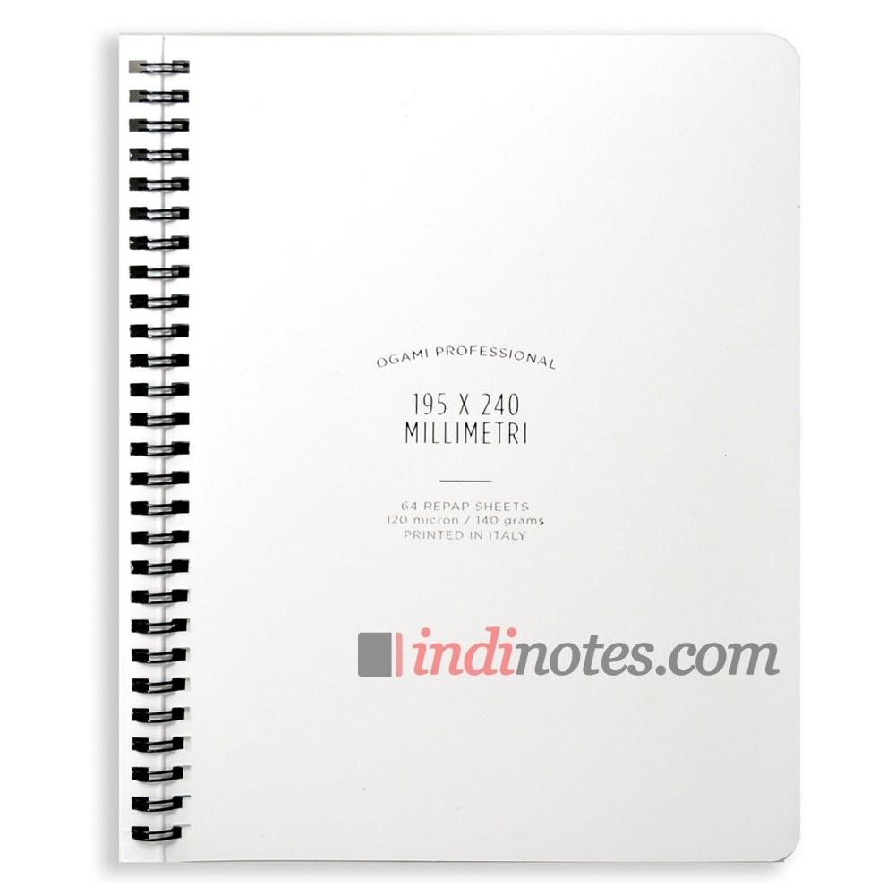 Записная книжка из каменной бумаги Professional Large White