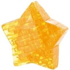 Желтый 3D пазл Звезда