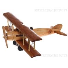 Деревянная модель самолета