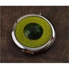 Карманное зеркальце, коллекция Crystal (зеленый; тип 2)