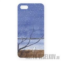 Чехол для IPhone Котик под деревом