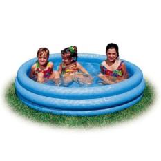 Надувной бассейн Кристалл