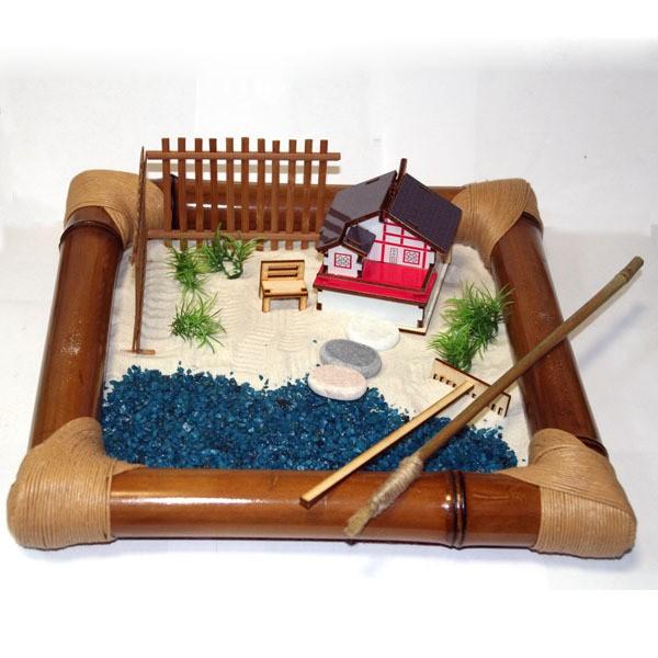 Японский садик «Дом у озера»