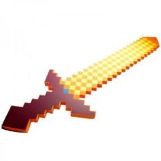 Сувенир Зачарованный огненный меч из Майнкрафт