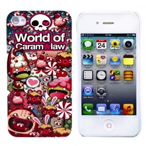 Чехол для iPhone 4/4S World of CaramLaw