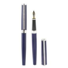 Перьевая синяя ручка PAX с волнистой поверхностью