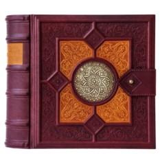 Книга-бар из кожи «Фолиант»