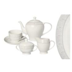 Чайный фарфоровый сервиз Дионис на 6 персон 15 предметов