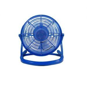 Настольный синий USB-вентилятор