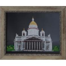 Картина с кристаллами Сваровски Исаакиевский собор