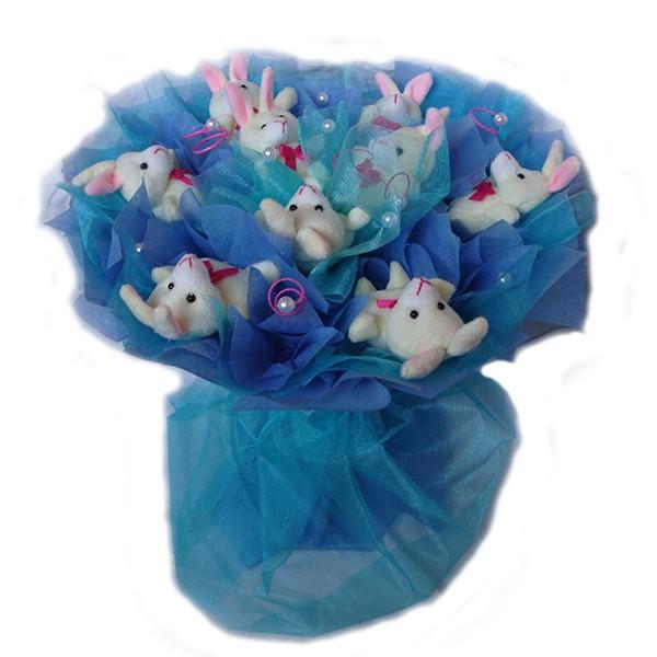 Букет из игрушек Братцы кролики