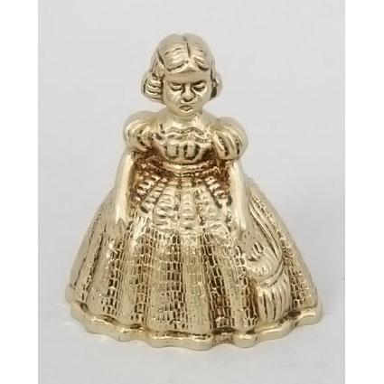 Колокольчик из бронзы Virtus «Дама»