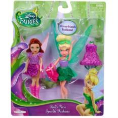 Кукла с волосами и платьем Disney Fairies (Дисней Фея)