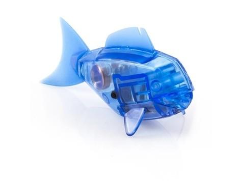 Робот-рыбка, темно-синяя